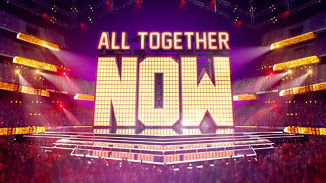 All Together Now is on Saturday night's on BBC One