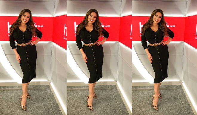 How to shop Kelly Brook's look as she gets you home on Heart