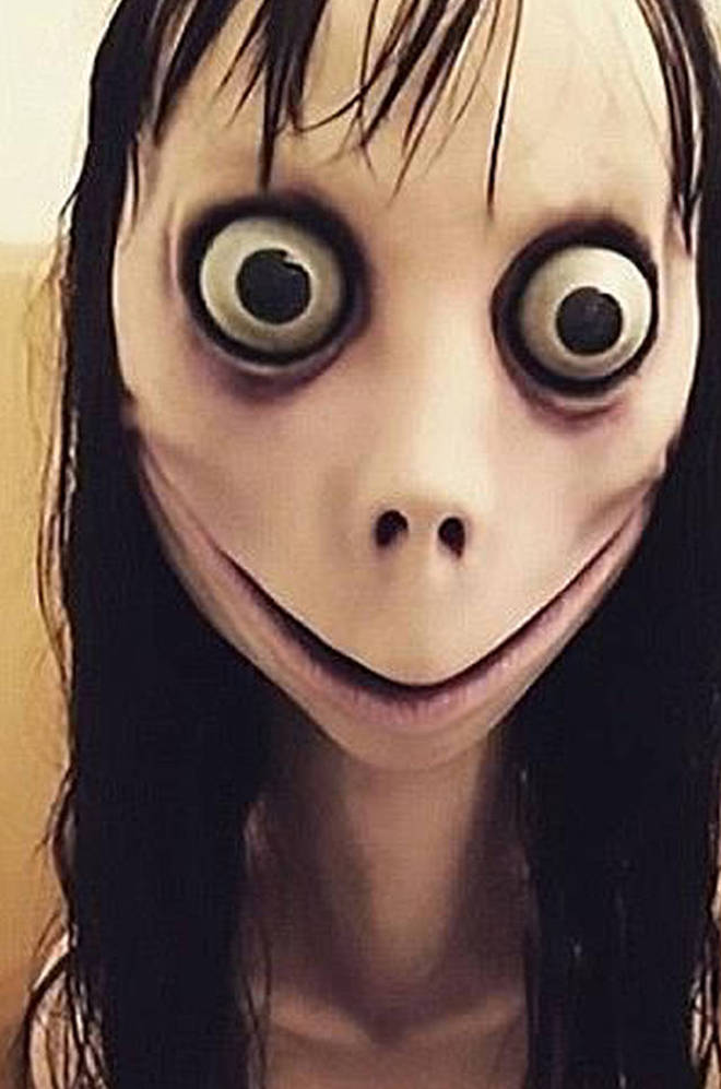 The Momo face has gone viral around the world