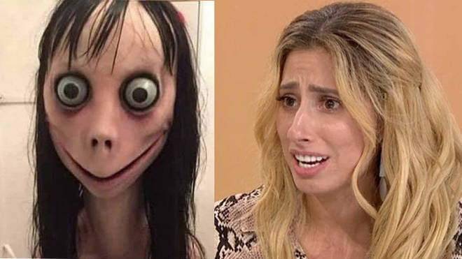 Stacey Solomon is worried about the Momo Challenge