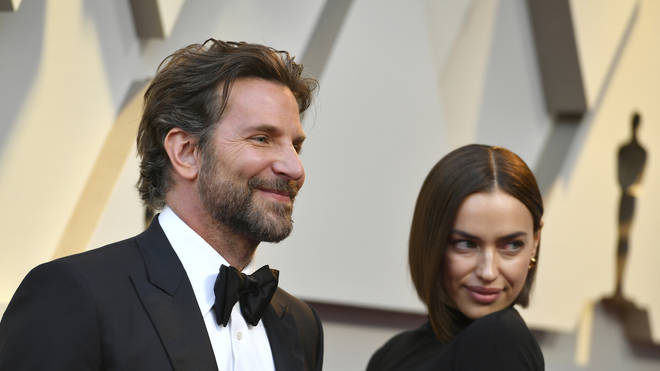 Bradley Walsh and Irina Shayk at the Oscars
