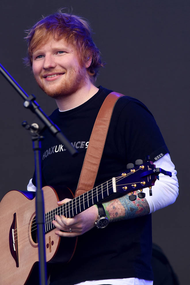 Ed Sheeran is one of the world's most famous men... but still managed to wed in secret