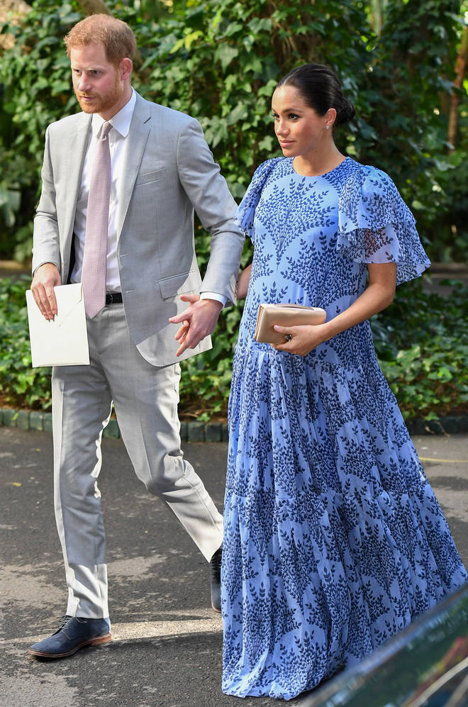 Meghan is said to be planning to give birth in a US hospital in London