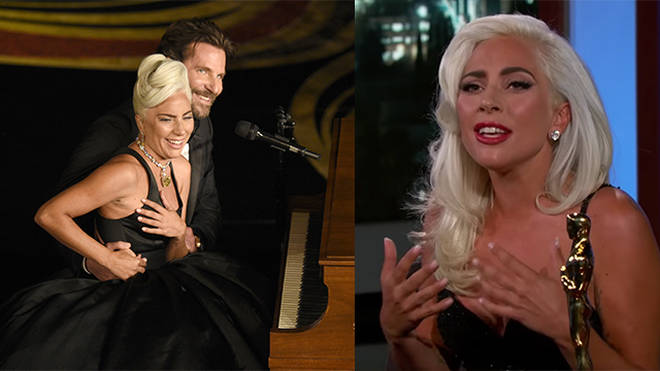 Lady Gaga finally put THOSE rumours to bed on Jimmy Kimmel Live