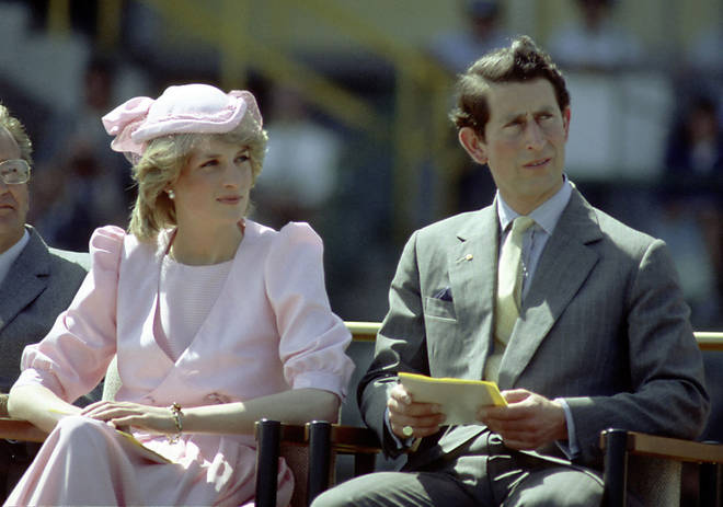 Prince Charles and Princess Diana split in 1992