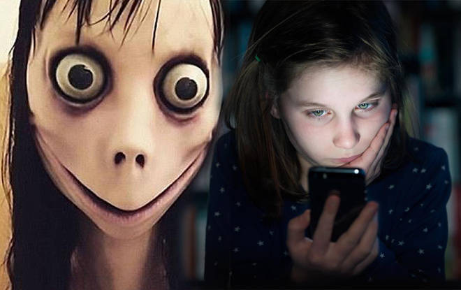 The Momo character has been targeting children on social media