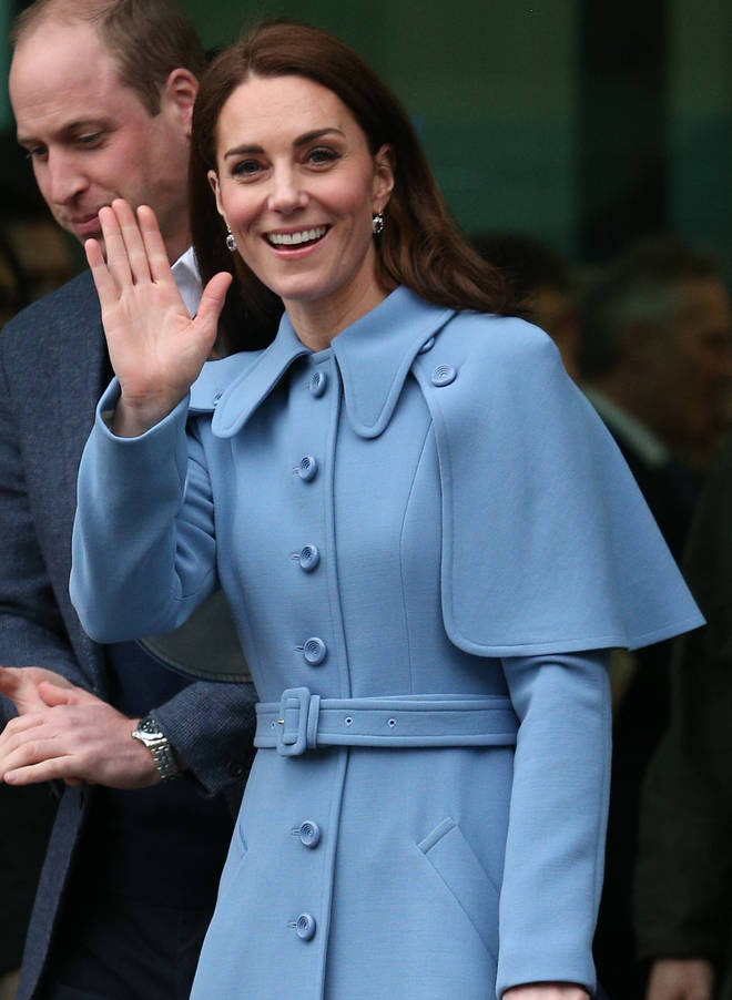 """Kate Middleton admitted she is """"broody"""" during a royal visit to Northern Ireland"""