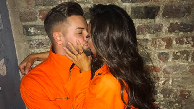 Chris Hughes shared a romantic snap with girlfriend Jesy Nelson