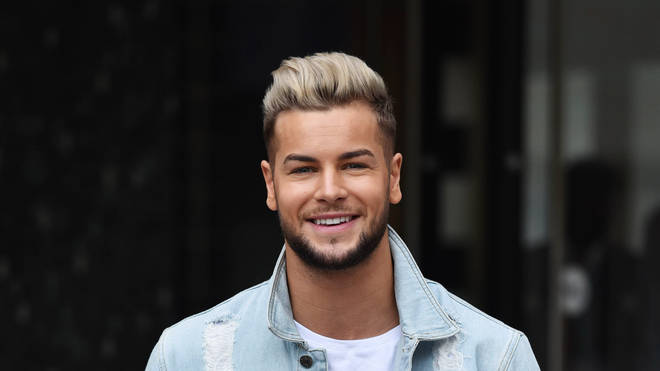 Chris Hughes shot to fame in the 2017 series of Love Island