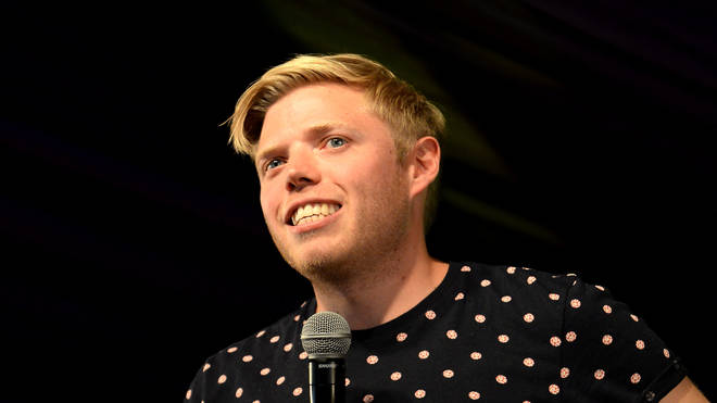 Comedian Rob Beckett is the funny voiceover guy on Celebs Go Dating