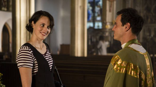 Fleabag finds God after meeting a priest (played by Sherlock's Andrew Scott)