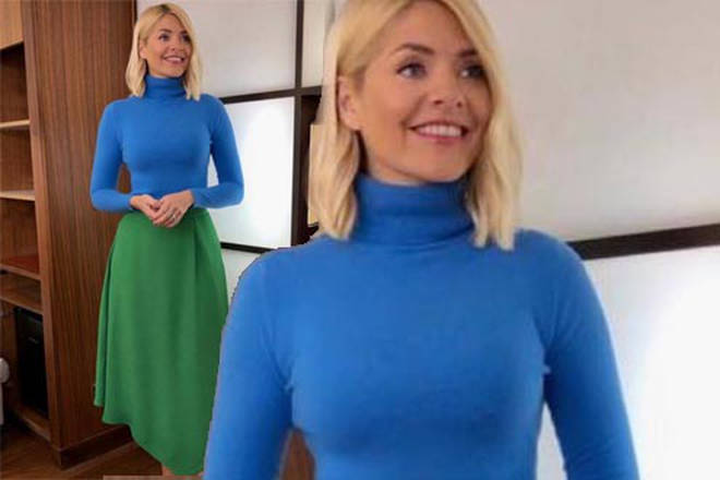 792bdaab9f Holly Willoughby This Morning outfit today  Phillip Schofield s co ...