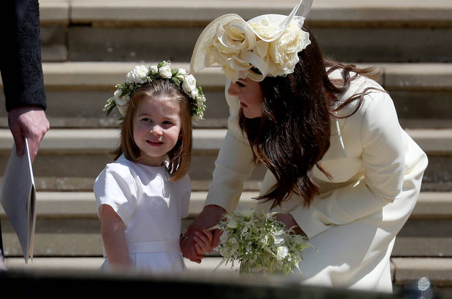 "Kate Middleton has also been heard calling Charlotte ""poppet"""