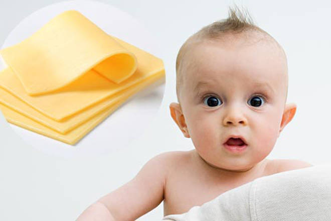 Parents have been throwing cheese at their babies