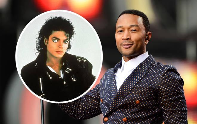 Michael Jackson and John Legend