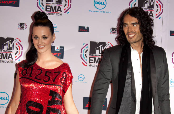 Russell Brand's first marriage was to American singer Katy Perry