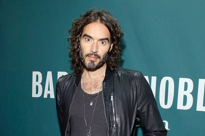 Russell Brand is a contestant on Celebrity Great British Bake Off