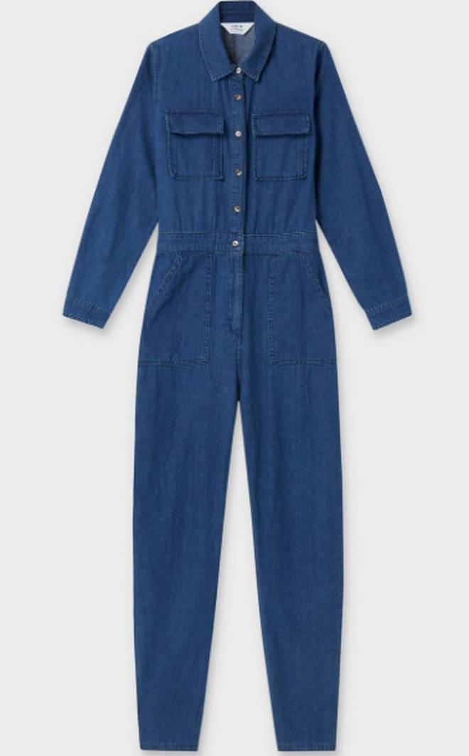 Mid Blue Utility Boiler Suit