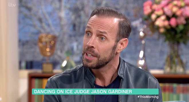 Jason Gardiner took a swipe at Gemma Collins on This Morning earlier today