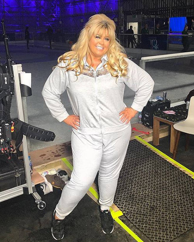 Gemma Collins was set to return to the ice for the finale
