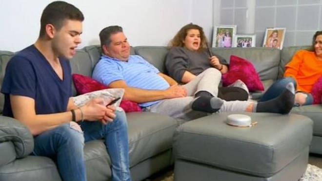 Josh, Jonathan, Amy and Nikki on Gogglebox