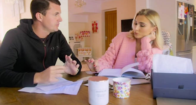 Billie Faiers and Greg Shepherd locked horns over her pricey wedding flower dreams