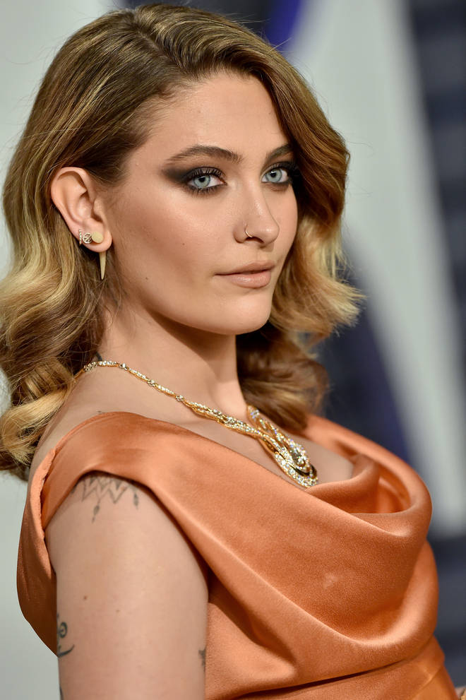 Paris Jackson attended the 2019 Vanity Fair Oscars party