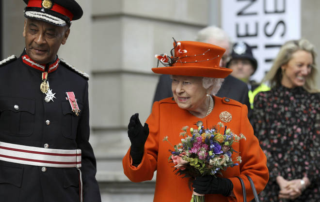 The Queen posted her first ever Instagram during a visit to The Science Museum today