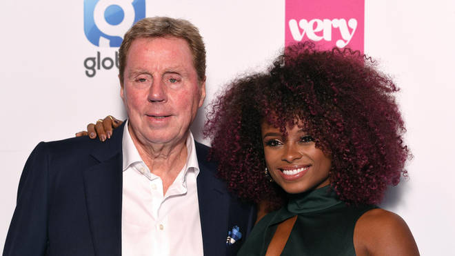 Harry Redknapp and Fleur East at The Global Awards 2019 with Very.co.uk