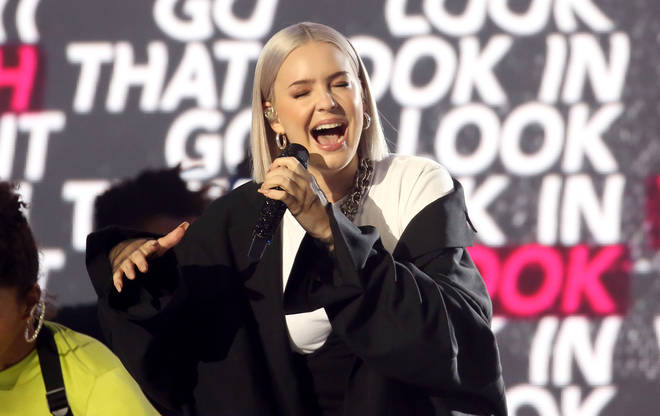 Anne-Marie opened The Global Awards 2019 with performances of FRIENDS and 2002
