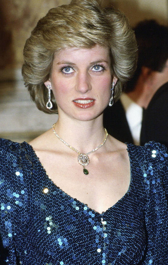 The late Diana first wore the piece in 1986 after the Queen Mother handed it down to her in 1981