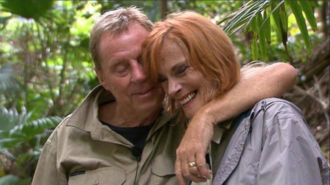 Harry and Sandra Redknapp reunite during I'm A Celeb 2018
