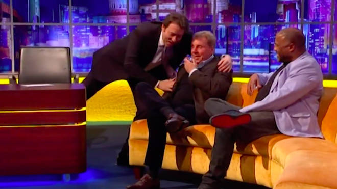 The former football manager cried in conversation with Jonathan Ross on Saturday night.