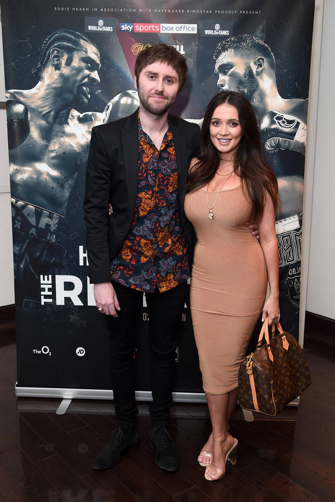 James Buckley and his wife Clair have two sons now