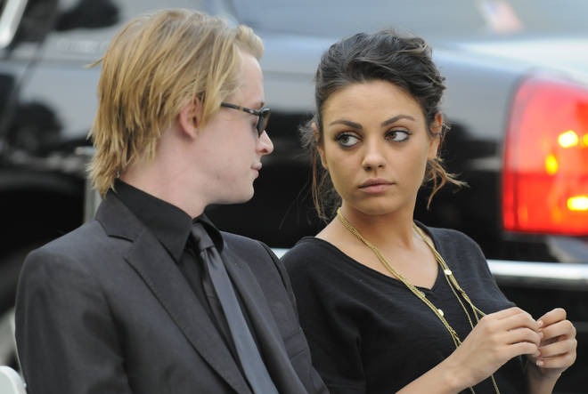 Culkin attended Michael Jackson's funeral with Mila Kunis, who was his girlfriend at the time