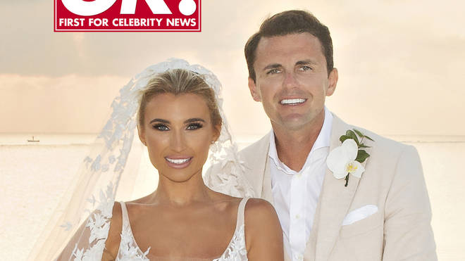 Billie Faiers married fiancé Greg Sherpherd this month on a stunning island in the Maldives