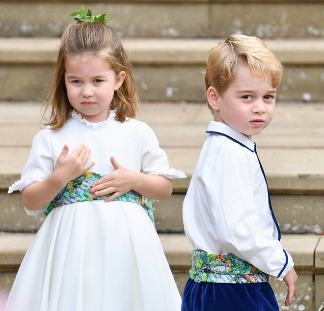Prince George, Princess Charlotte and Prince Louis are not allowed to play on gadgets