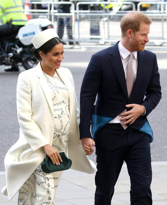 Meghan Markle wore white for the occasion