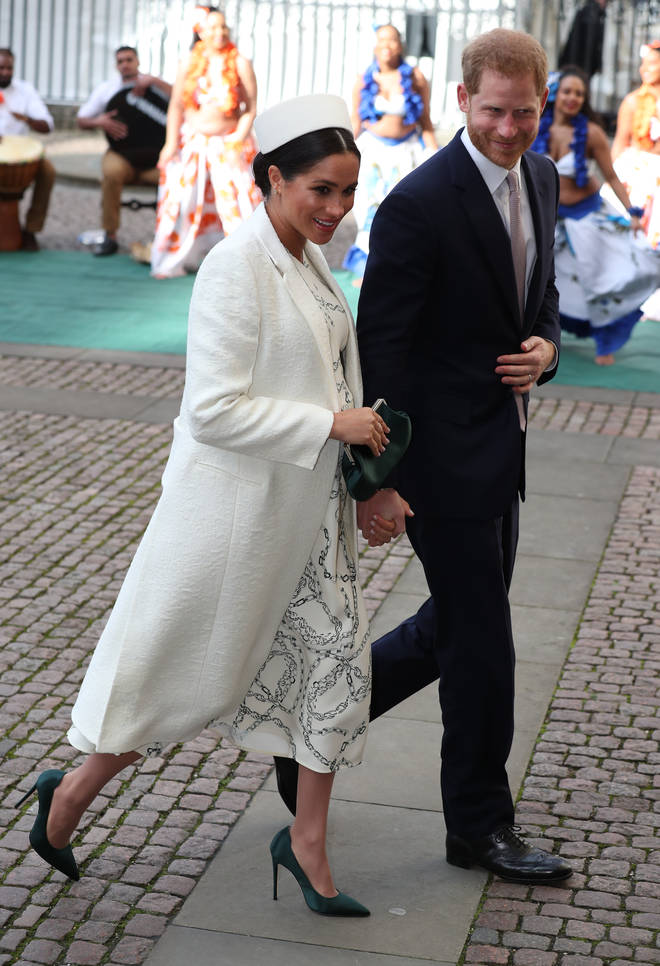 Meghan Markle and Prince Harry had visited Canada House earlier in the day