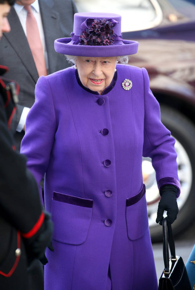 The Queen was the last to arrive at Westminster Abbey