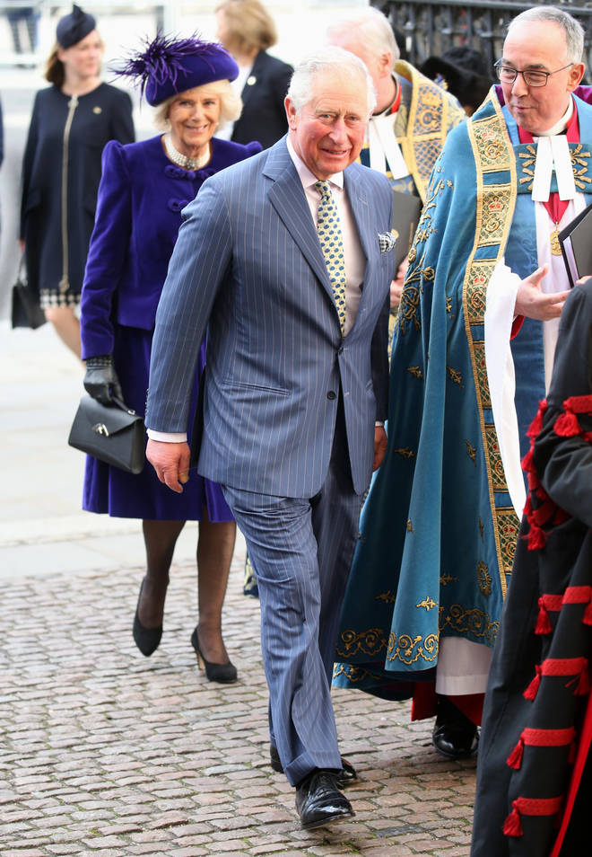 Camilla Parker Bowles and Prince Charles arrived shortly after the Duke and Duchess of Cambridge