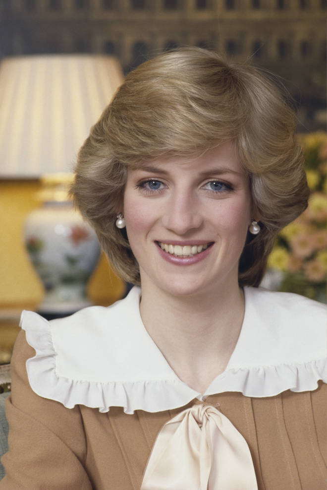 Princess Diana, pictured in 1983