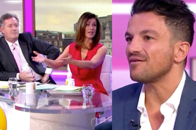 Peter Andre was left uncomfortable by the questions about Kate Price