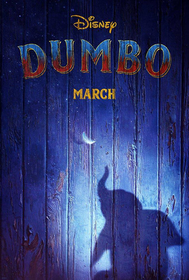 Dumbo stars Colin Farrell and was directed by Tim Burton