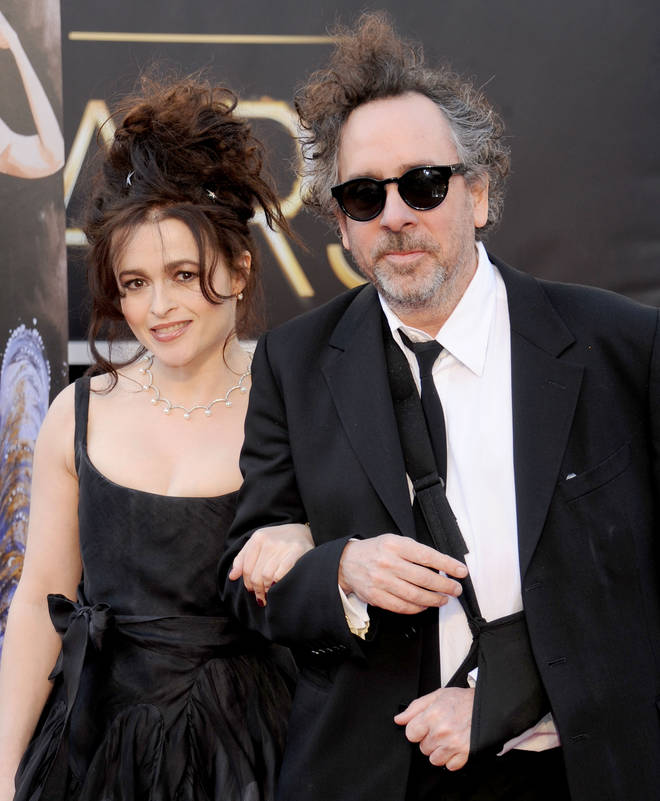 Tim Burton and Helena Bonham Carter met on the set of Planet Of The Apes