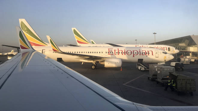 An Ethiopian Airlines flight from Addis Ababa to Nairobi crashed six minutes after take off