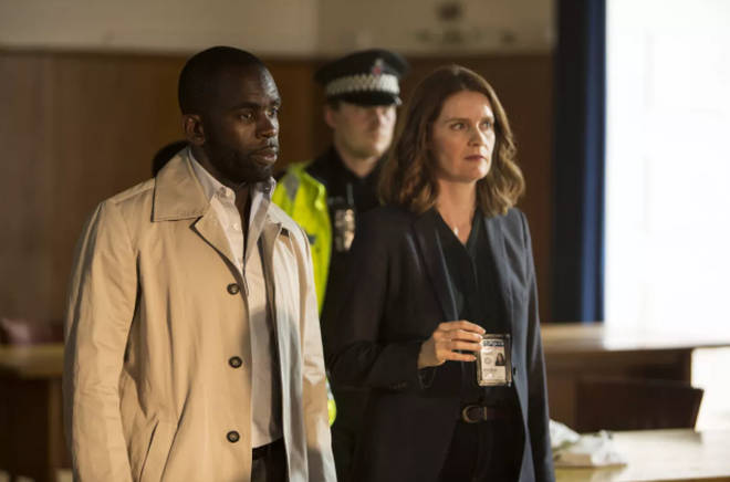 Jimmy Akingbola and Justine Mitchell in Cheat
