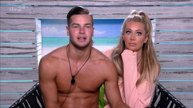 Chris Hughes and Olivia Attwood got together on Love Island 2017
