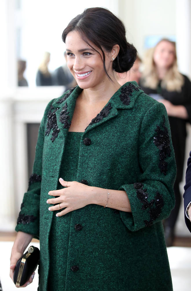 Meghan Markle is due to give birth in April 2019