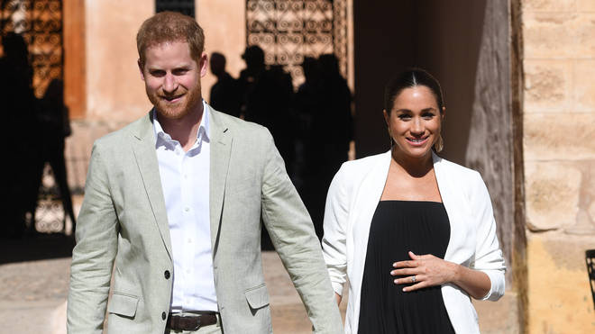 Where will Meghan and Harry's baby be in line to the throne?